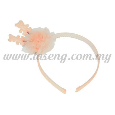 Hairband 14 SPRING BEAR *ROSE (DU-HB14-RO)