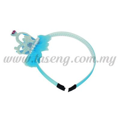 Hairband 15 LITTLE CROWN *BLUE (DU-HB15-B)