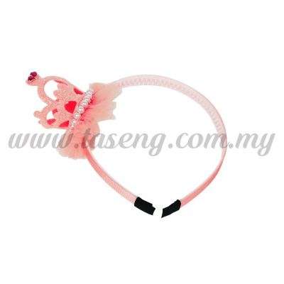 Hairband 15 LITTLE CROWN *ROSE (DU-HB15-RO)