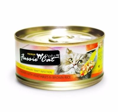 Fussie Cat Chicken With Vegetables & Brown Rice 80g