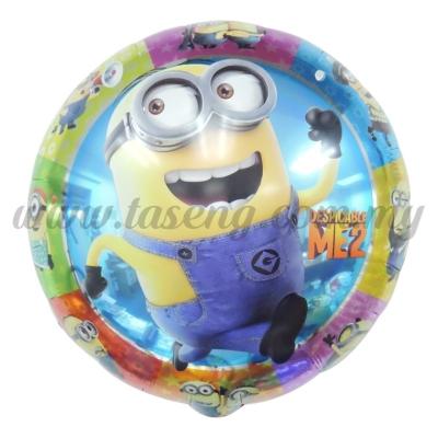[Cartoon] Round Foil Balloon *Minion (FB-T013)