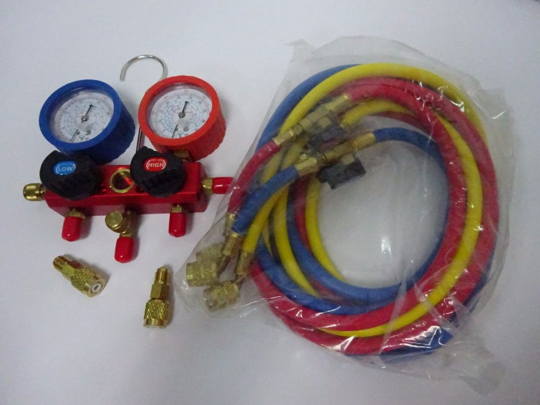 ROTHENBERGER 1000050050 STANDARD ECO MANIFOLD SET(6FT CHARGING HOSE , R22, R134A, R404A & R410A) Rothenberger Pressure Test Equipment and Accessories Subang Jaya, Selangor, Kuala Lumpur (KL), Malaysia. Supplier, Supplies, Manufacturer, Wholesaler | Culmi Air-Cond & Refrigeration Parts Supply Sdn Bhd