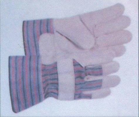 10 1/2'' Semi Leather Glove