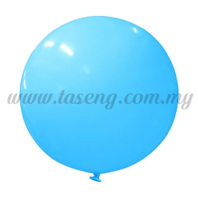 36inch Standard Round Balloon - Light Blue (B-36SR-ST9)