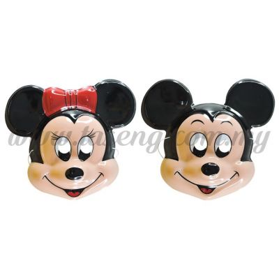 Mickey Mouse and Minnie Mouse Mask (MK-9841)