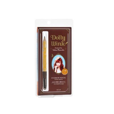 Dolly Wink Eyebrow Pencil II No.01 - (Honey Beige)