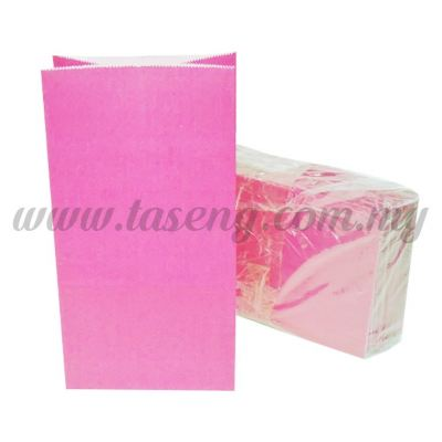 Kraft Paper Bag -Pink  1pack *10pcs (RPB-P1-P)