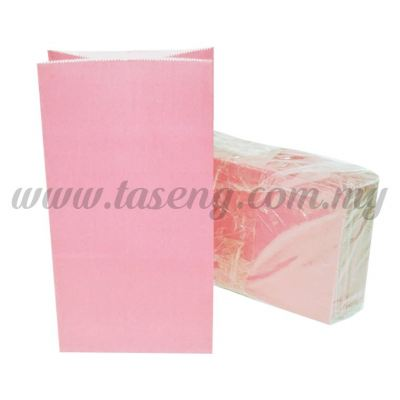 Kraft Paper Bag -Baby Pink  1pack *10pcs (RPB-P1-BP)