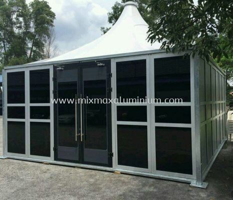 Aluminium MODULAR SWING DOOR
