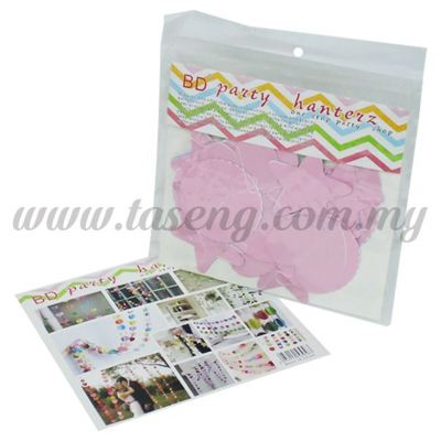 Paper Party Bell Shape *Pink (PD-BEL2-P)