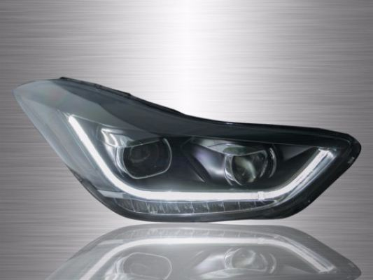 Hyundai Elantra Projector LED Light Bar Head Lamp 12-16