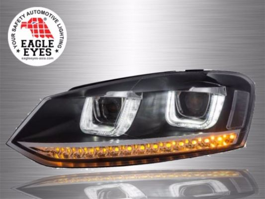 VW Polo Projector U-Concept Head Lamp 09~17