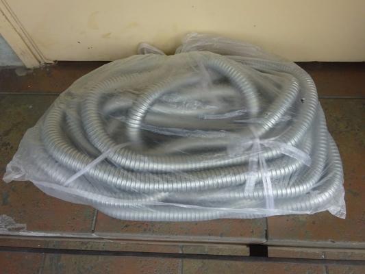 FLEXIBLE CONDUIT (G.I) 15M (ROLL)