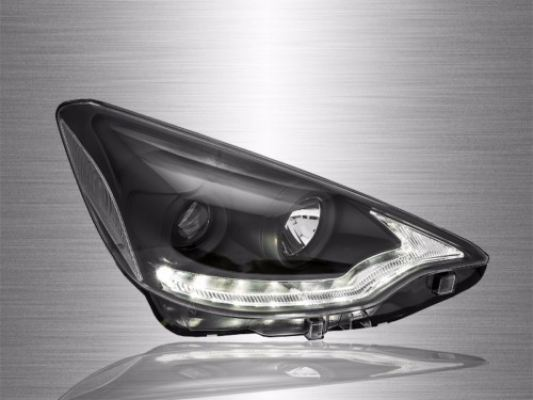 Prius C Projector Light Bar DRL Look Head Lamp 12