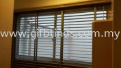 Fauxwood PVC Blinds Fauxwood PVC Blinds