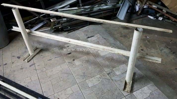Parking reserve matel stand for your parking lot or safety divider / production use