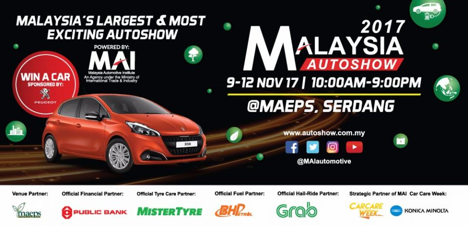 Malaysia's Largest & Most Exciting Autoshow November 2017 Year 2017 Past Listing