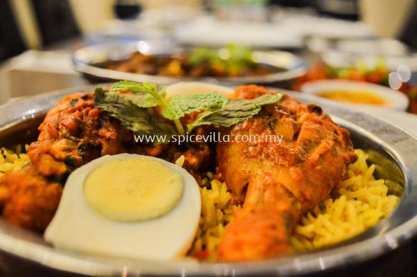 Chicken Dum Briyani