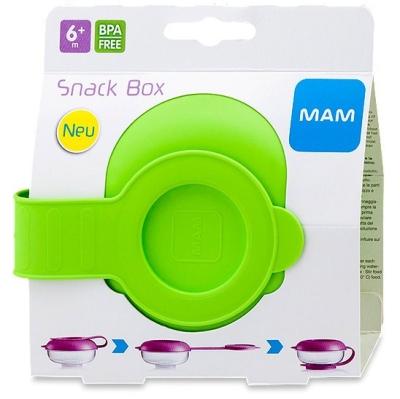 MAM SNACK BOX E615 (GREEN/BLUE)