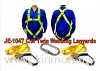 PROMO * JE1047 C/w Twin Webbing Lanyards Current Promo Construction Safety