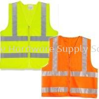 Safety Vest 4 Reflective Tape