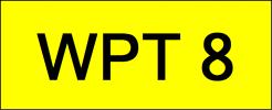 WPT8 VVIP Plate