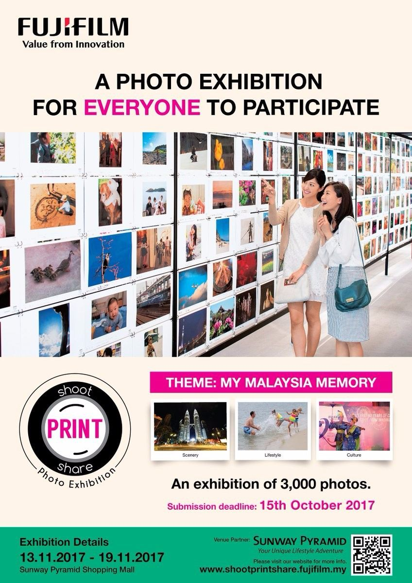 A PHOTO EXHIBITION FOR EVERYONE TO PARTICIPATE November 2017 Year 2017 Past Listing