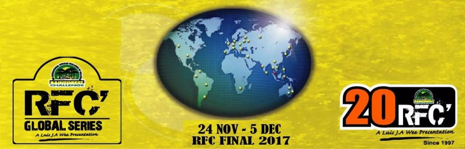RFC Rainforest Challenge 2017 November 2017 Year 2017 Past Listing