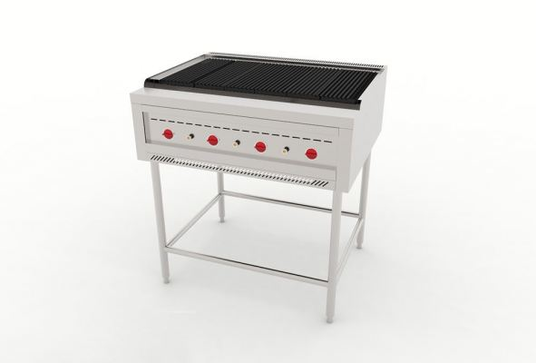 Charbroiler Stand 900