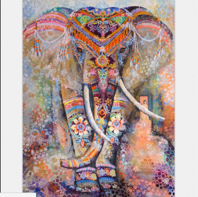 Tapestry Wall Hanging - Elephant 103