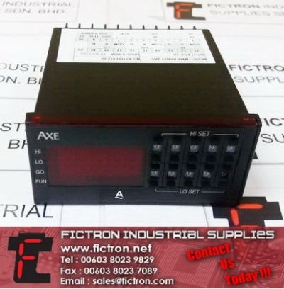 MMX-APB27-2A5 AXE Panel Control Meter Supply Malaysia Singapore Thailand Indonesia
