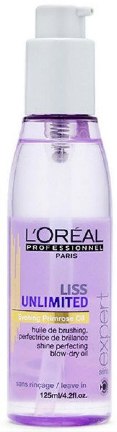 L'oreal Liss Unlimited Shine Perfecting Blow-Dry Oil 125ml