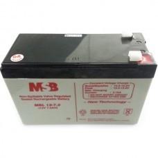 MSB MSL12-7.2 Lead Acid Battery