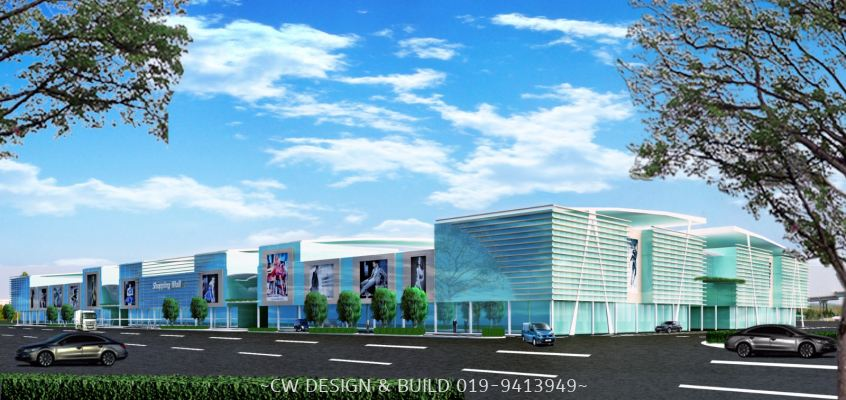Building Design @ Kelantan Shopping Mall