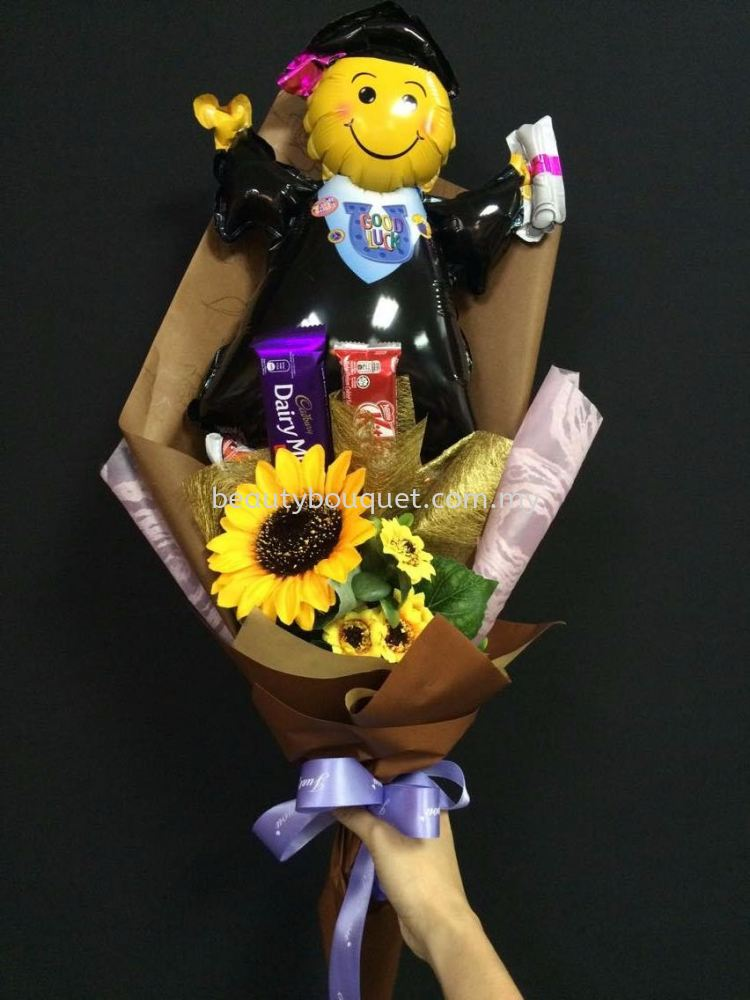 GB 012 Graduation Bouquet