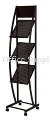 MR1518 Newspaper/Magazine Rack Metal Cabinet/Wardrobe/Racking/Storage