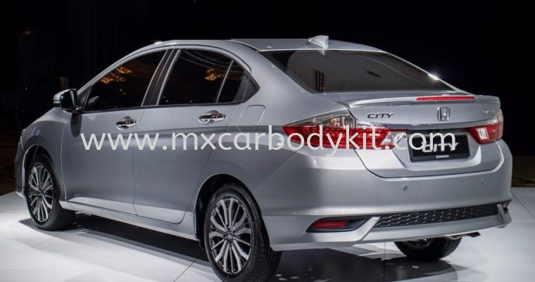HONDA CITY 2014 - 2017 OEM SPOILER WITH LED CITY 2017 HONDA