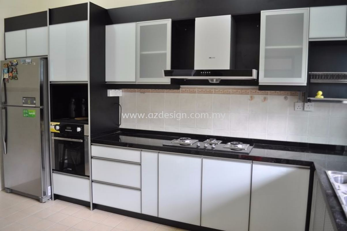kitchen cabinet puchong Kitchen Cabinet Design, Services, Contractor  ~ Az Interior Design Sdn Bhd
