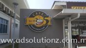 Box Up Conceal Logo 3D Box Up Lettering Signboard Signage