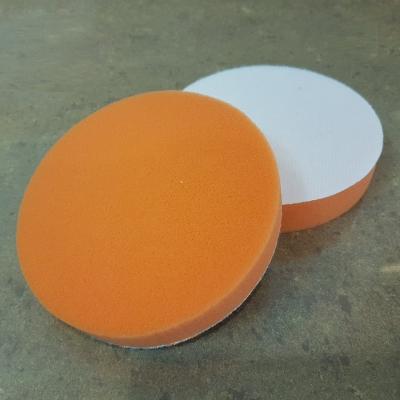 "5"" Polish Flat Sponge-Orange B0053"