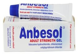 Anbesol Gel Types of Medicines for Disposal Medicine Disposal
