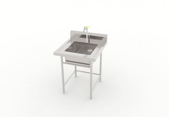 Single Bowl Sink Table