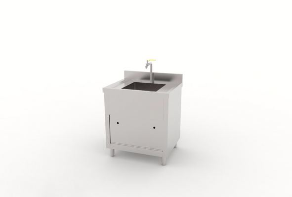 Single Bowl Sink Counter