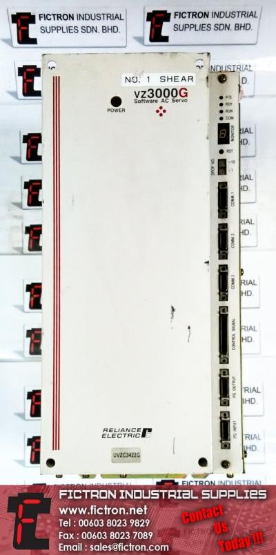 UVZC3422G VZ3000G RELIANCE AC SERVO DRIVE REPAIR SERVICE IN MALAYSIA 12 MONTHS WARRANTY