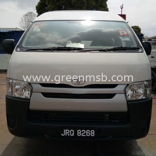Tayota Hiace (2.5cc) Van Transportation (Car) Rental