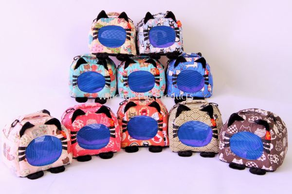 6007 Cat Eared Pet Travel Bag