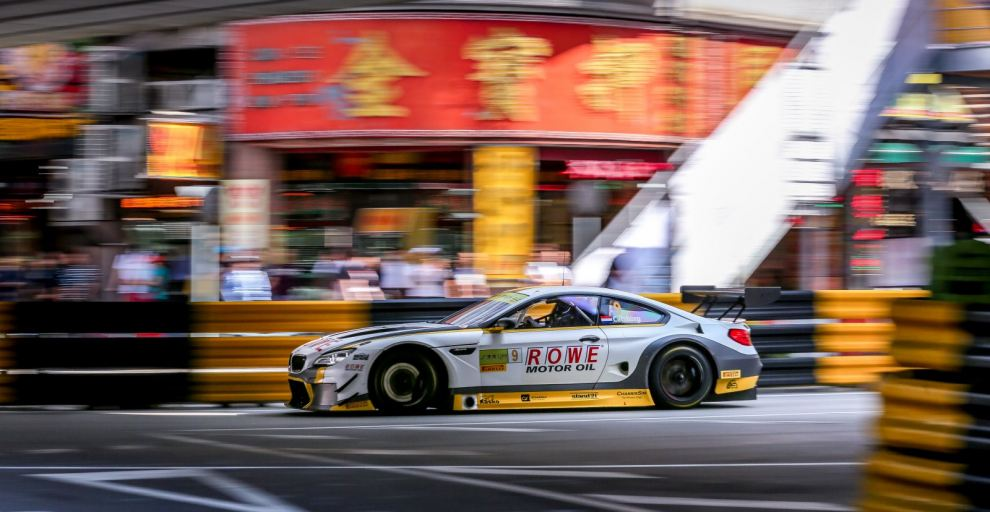 Race with ROWE RACING @ MACAU from 16NOV-19NOV2017