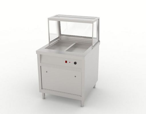 Bain Marie Two Compartment