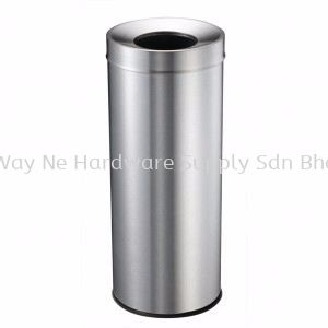 STAINLESS STEEL BIN c/w Open Top