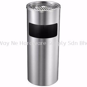 STAINLESS STEEL BIN c/w Astray Top